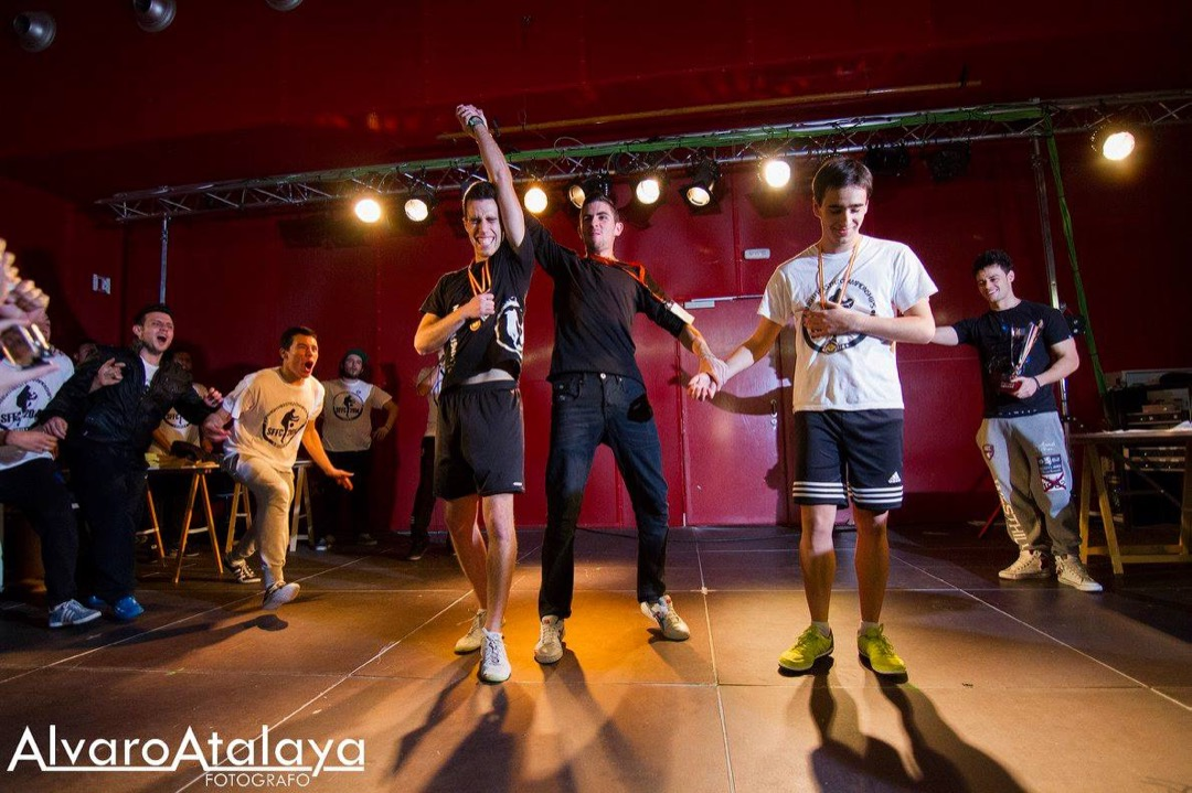 4 VECES CAMPEÓN DE ESPAÑA – Spanish Freestyle Football Competition