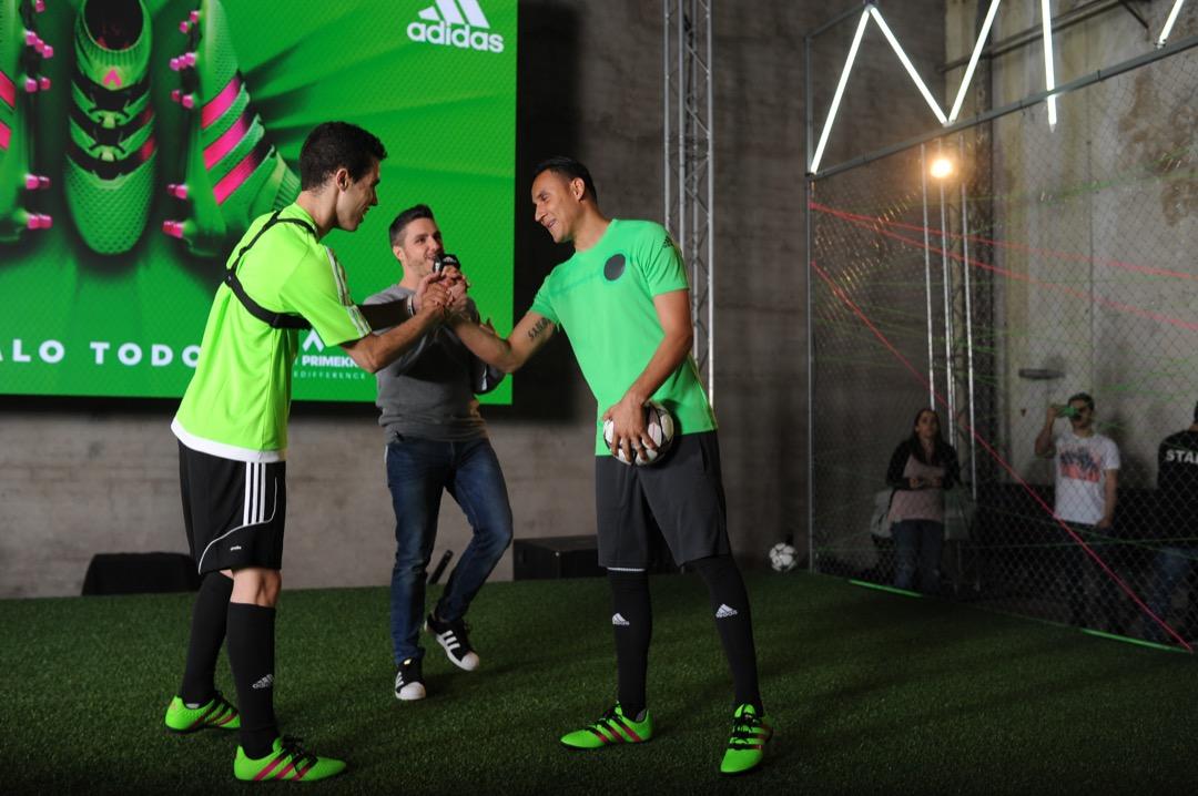 Presentación de Keylor Navas en Adidas